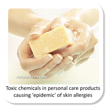 toxic chemical ingredients in personal care products - image