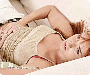 Woman Teen Stomach Pain Pregnant Young -
