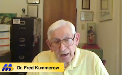 Dr Fred Kummerow Cholesterol supports health - youtube video image