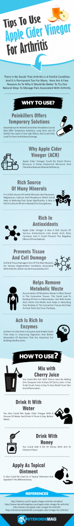 Tips To Use Apple Cedar Vinegar For Arthritis