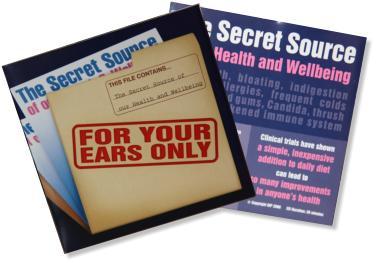 Secret Source of Health & Wellbeing