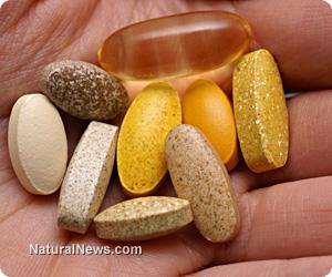 Hand Supplements Vitamins - Natural News image