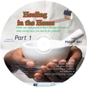 Healing in the Home - Phillip Day - CD cover illustration