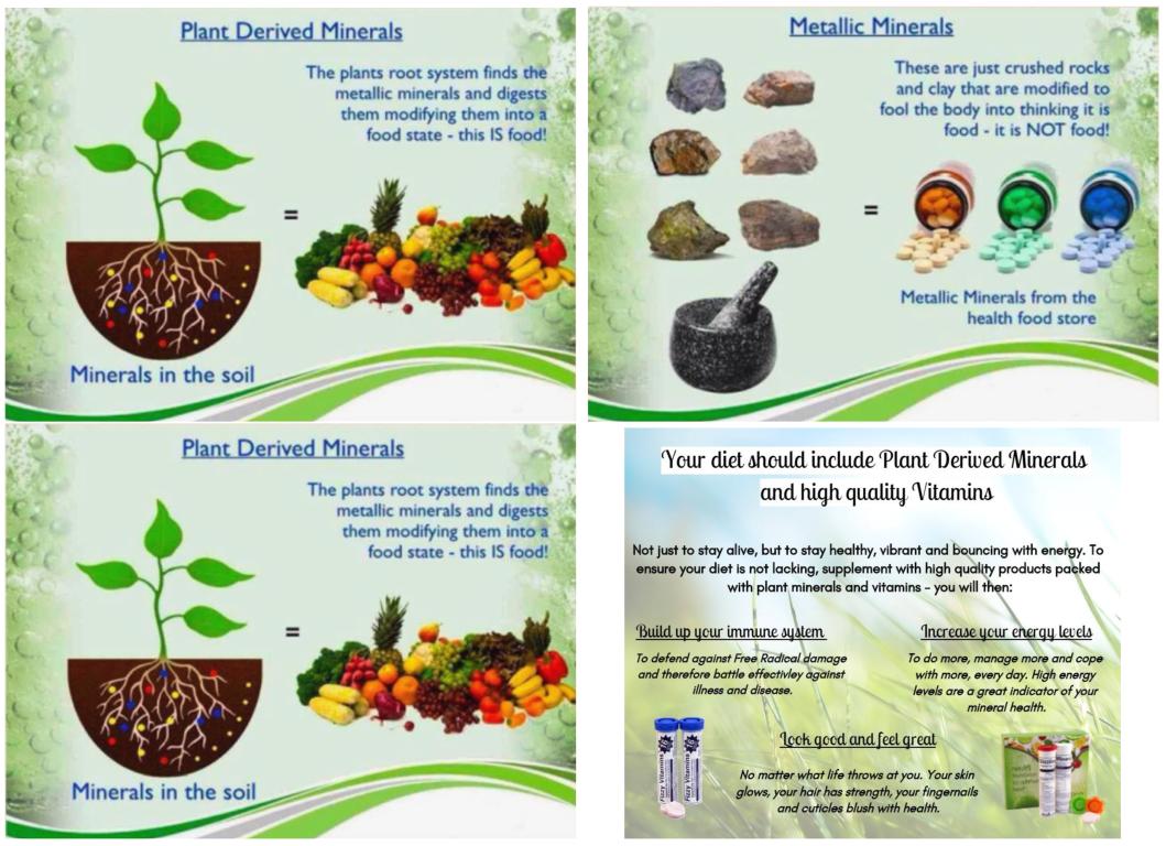 Plant Derived Minerals